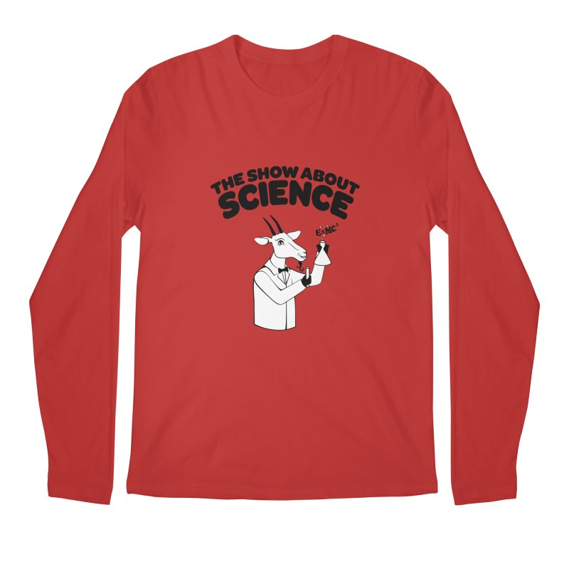 E=MC Goat Men's Regular Longsleeve T-Shirt by theshowaboutscience's Artist Shop