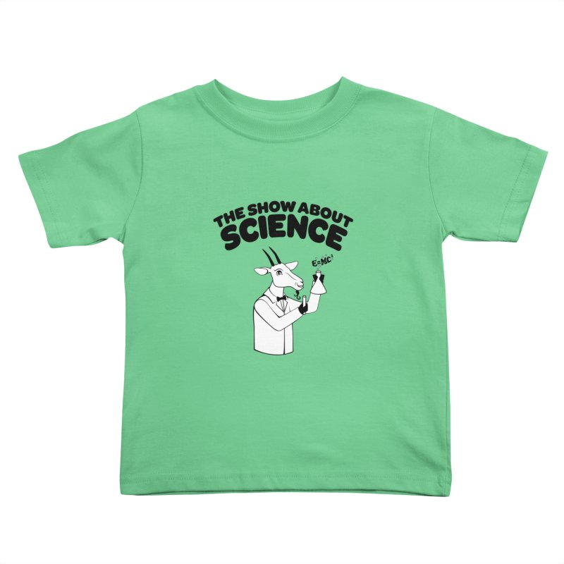 E=MC Goat Kids Toddler T-Shirt by theshowaboutscience's Artist Shop