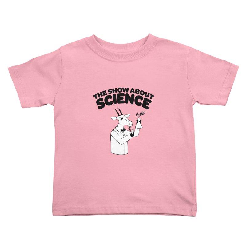 E=MC Goat Kids Toddler T-Shirt by theshowaboutscience's Artist Shop