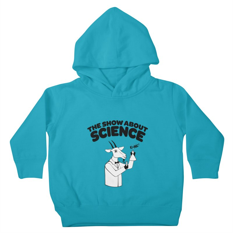 E=MC Goat Kids Toddler Pullover Hoody by theshowaboutscience's Artist Shop
