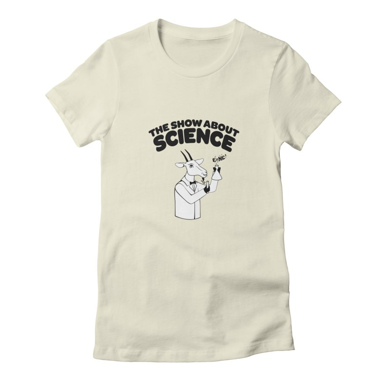 E=MC Goat Women's T-Shirt by theshowaboutscience's Artist Shop