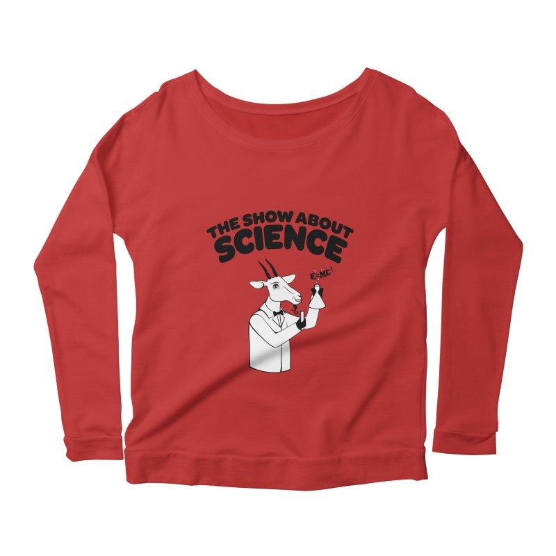E=MC Goat Women's Scoop Neck Longsleeve T-Shirt by theshowaboutscience's Artist Shop