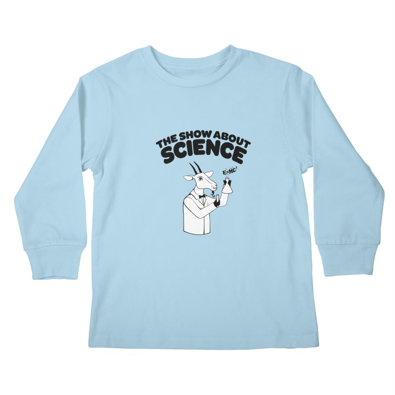 E=MC Goat Kids Longsleeve T-Shirt by theshowaboutscience's Artist Shop