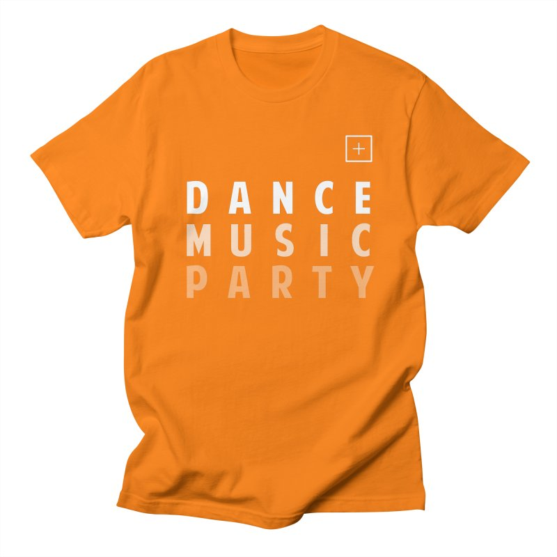 Dance Music Party Men's T-Shirt by theshufflepr
