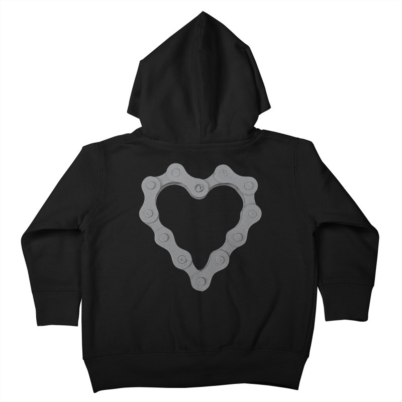I Love Bike Kids Toddler Zip-Up Hoody by CRANK. outdoors + music lifestyle clothing