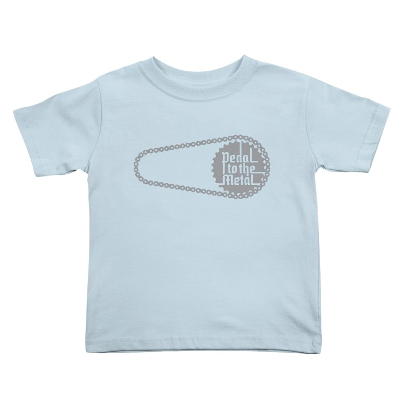 Pedal to the Metal Kids Toddler T-Shirt by CRANK. outdoors + music lifestyle clothing