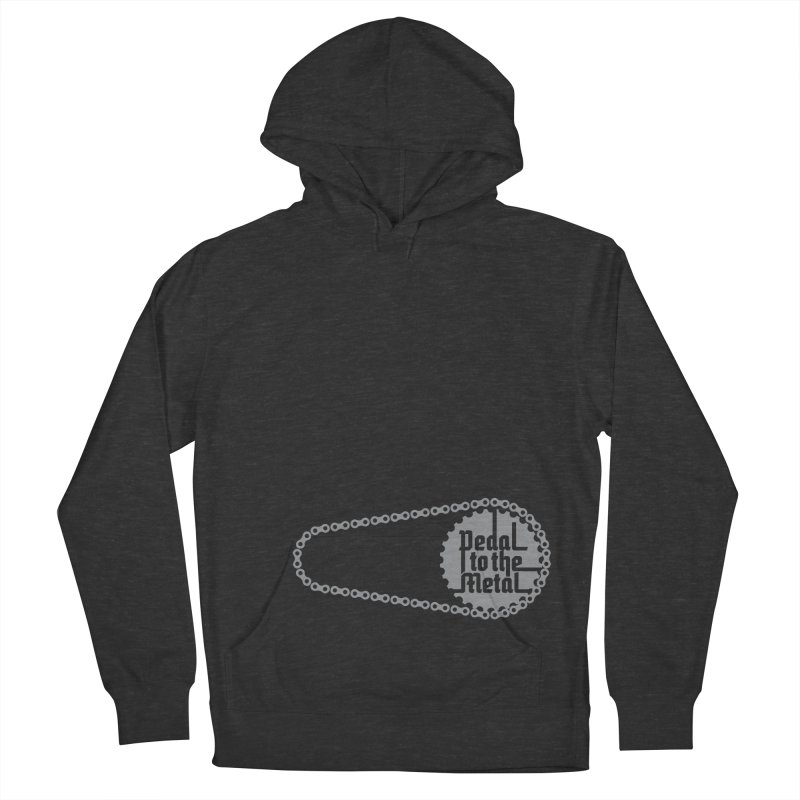 Pedal to the Metal Side Version Women's Pullover Hoody by CRANK. outdoors + music lifestyle clothing