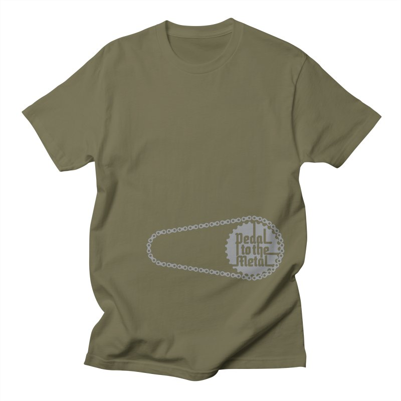 Pedal to the Metal Side Version Men's T-Shirt by CRANK. outdoors + music lifestyle clothing