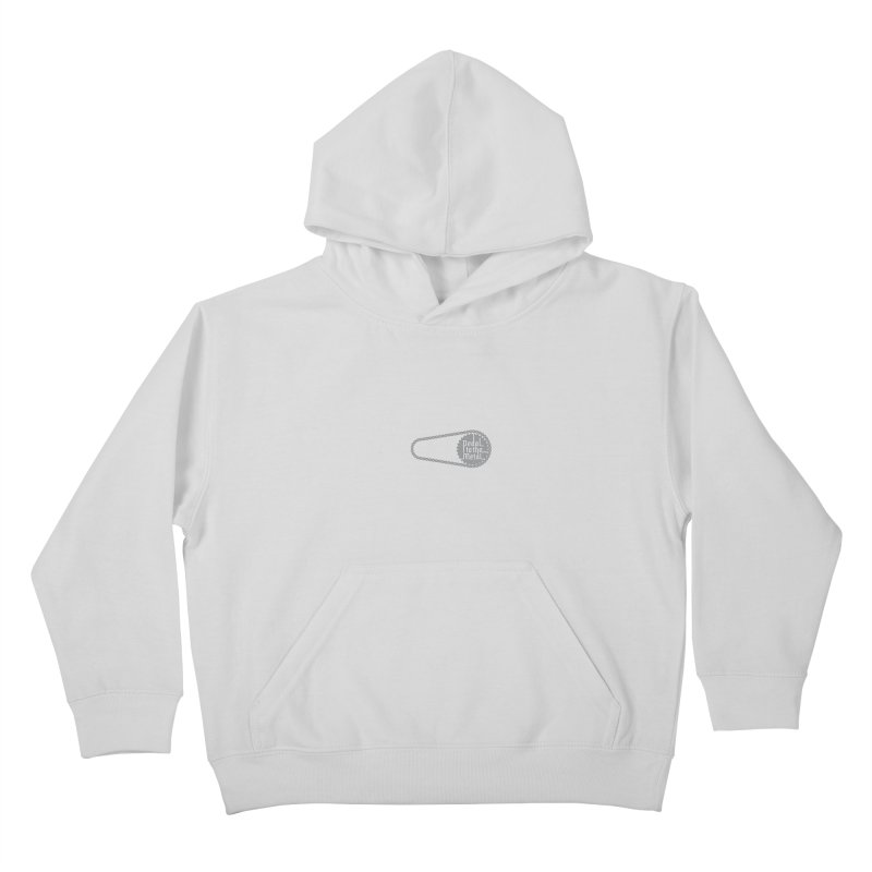 Pedal to the Metal Side Version Kids Pullover Hoody by CRANK. outdoors + music lifestyle clothing
