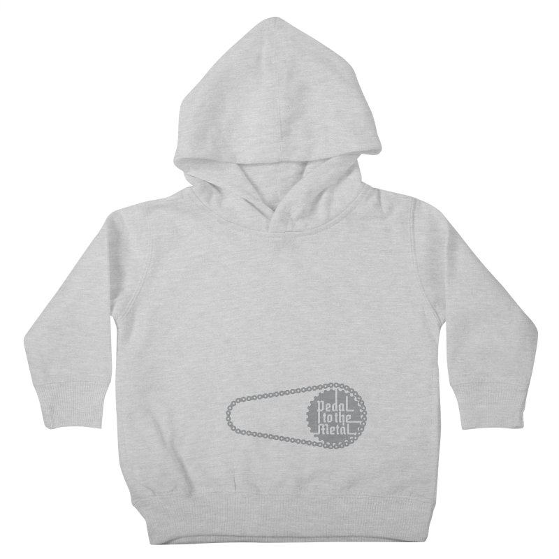 Pedal to the Metal Side Version Kids Toddler Pullover Hoody by CRANK. outdoors + music lifestyle clothing