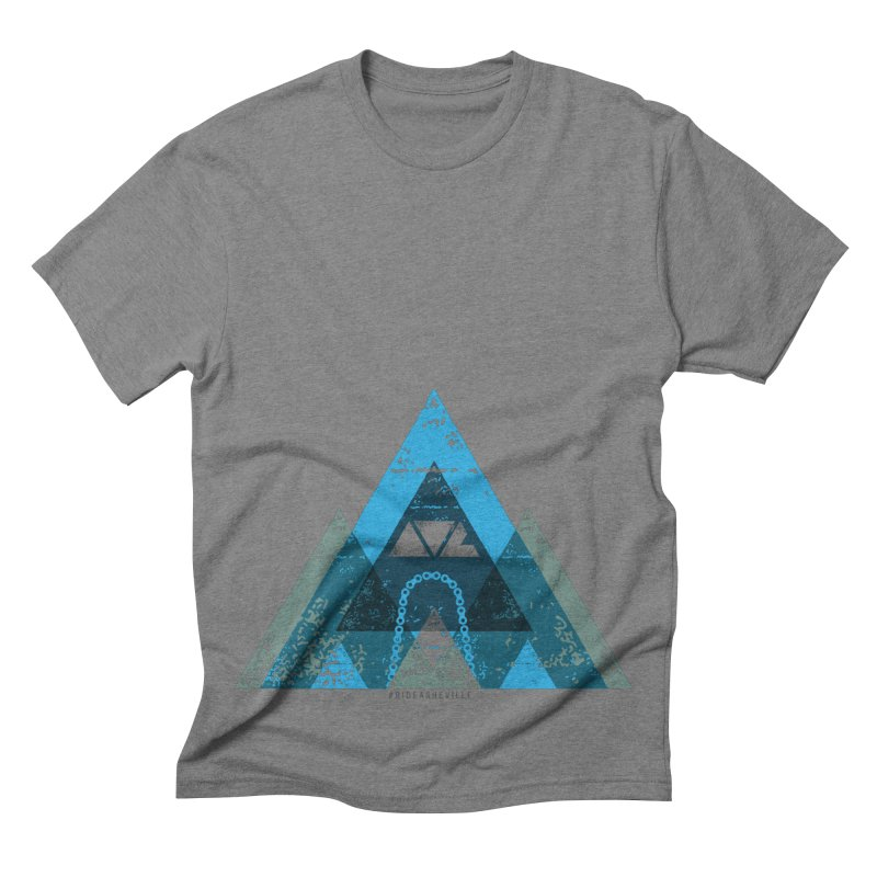RIDE.AVL.MTN Men's Triblend T-shirt by CRANK. outdoors + music lifestyle clothing
