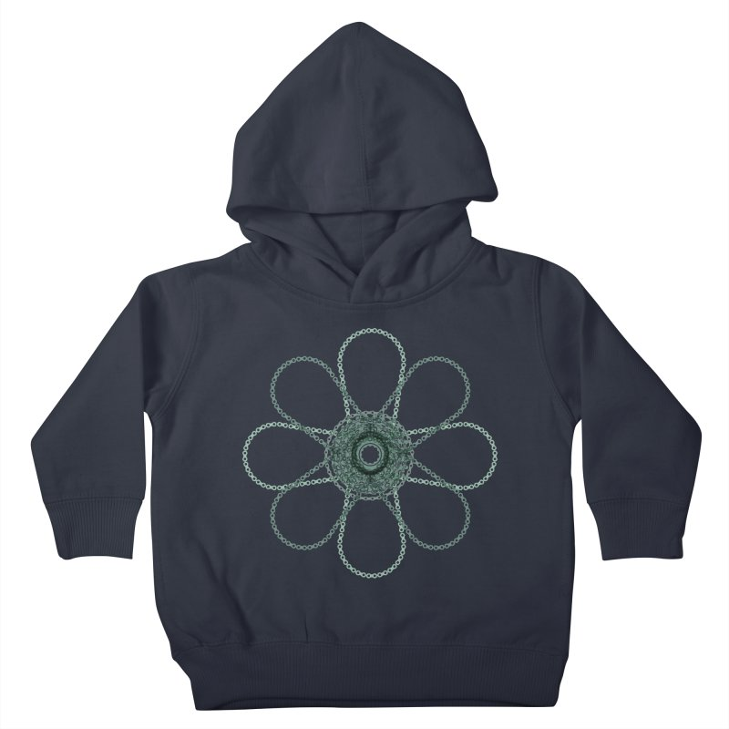 Chain Flower Power Kids Toddler Pullover Hoody by CRANK. outdoors + music lifestyle clothing