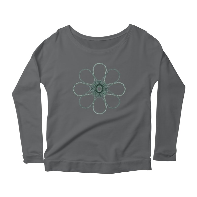 Chain Flower Power Women's Longsleeve T-Shirt by CRANK. outdoors + music lifestyle clothing