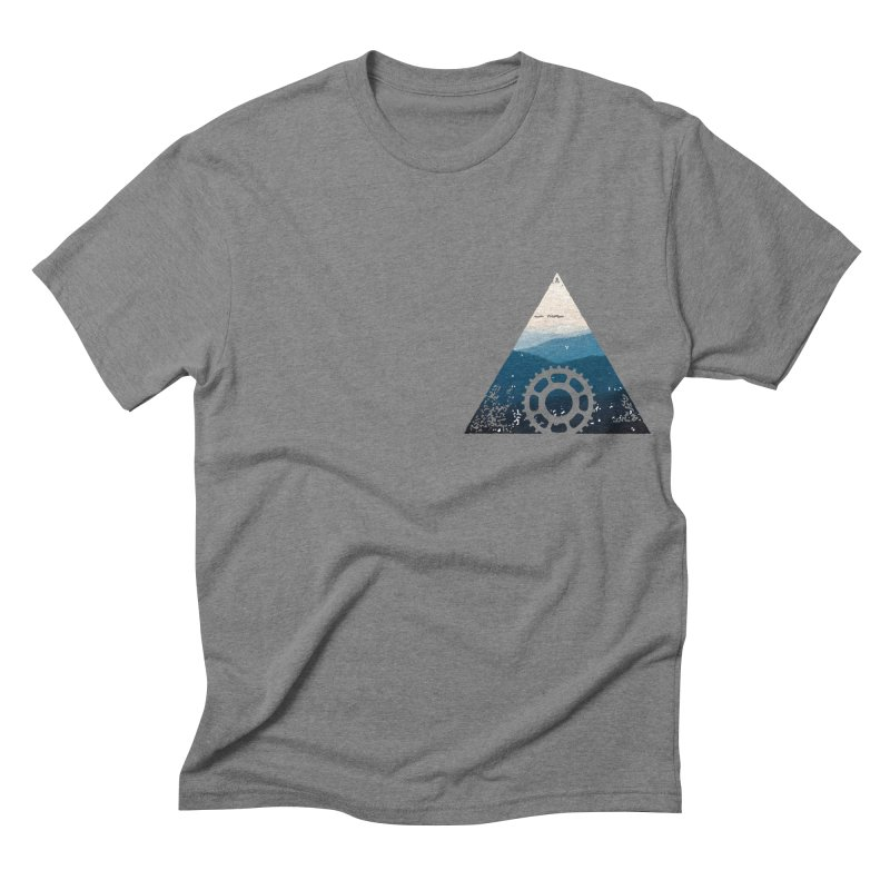 MTN GEAR Men's Triblend T-shirt by CRANK. outdoors + music lifestyle clothing