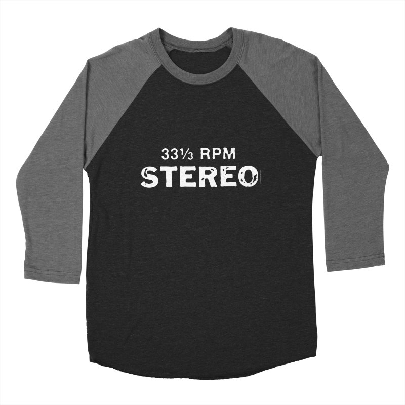 33 1/3 STEREO white   by CRANK. outdoors + music lifestyle clothing