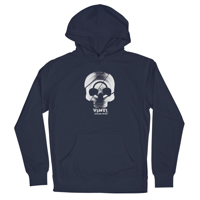 Vinyl Killing Skully Men's Pullover Hoody by CRANK. outdoors + music lifestyle clothing