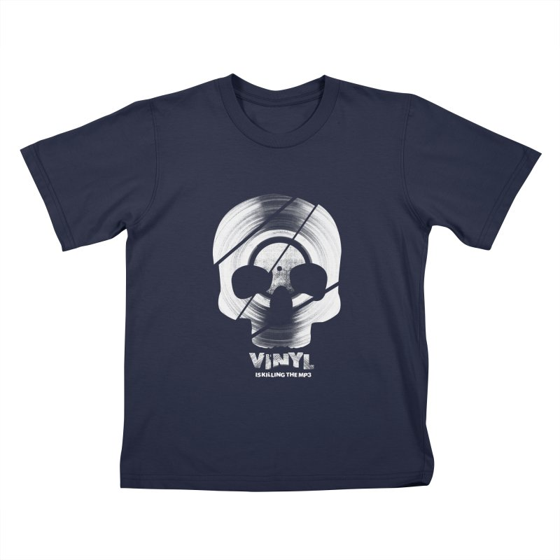Vinyl Killing Skully Kids T-Shirt by CRANK. outdoors + music lifestyle clothing