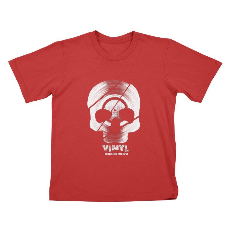 Vinyl Killing Skully Kids T-Shirt by CRANK. outdoors + music lifestyle clothing