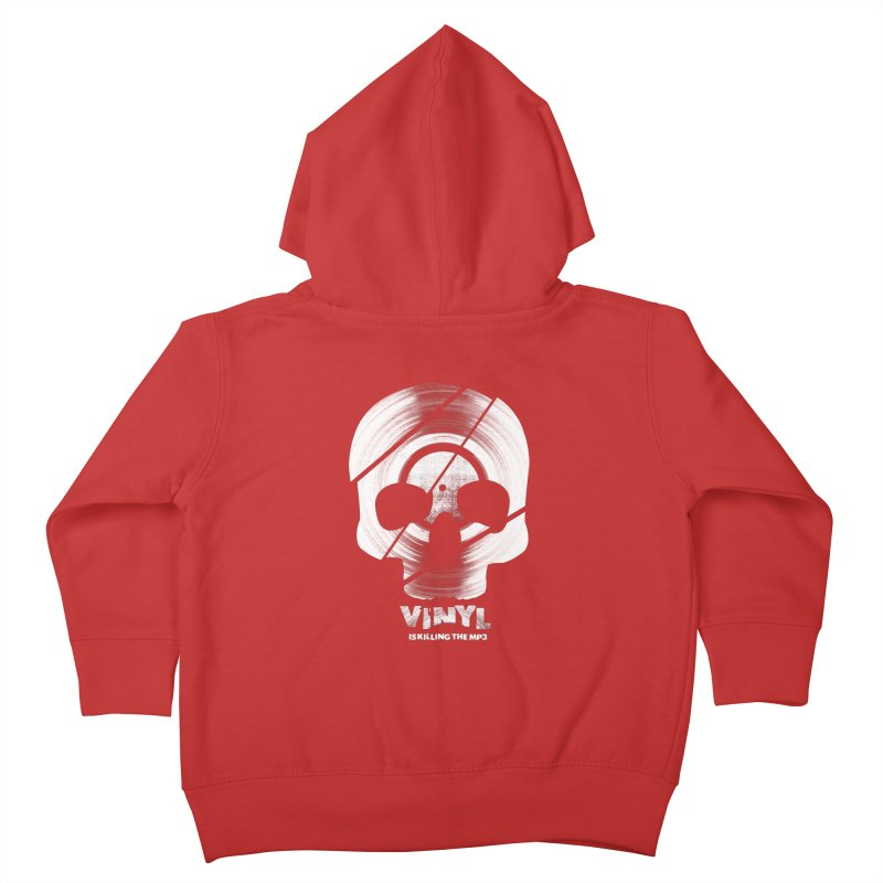 Vinyl Killing Skully Kids Toddler Zip-Up Hoody by CRANK. outdoors + music lifestyle clothing