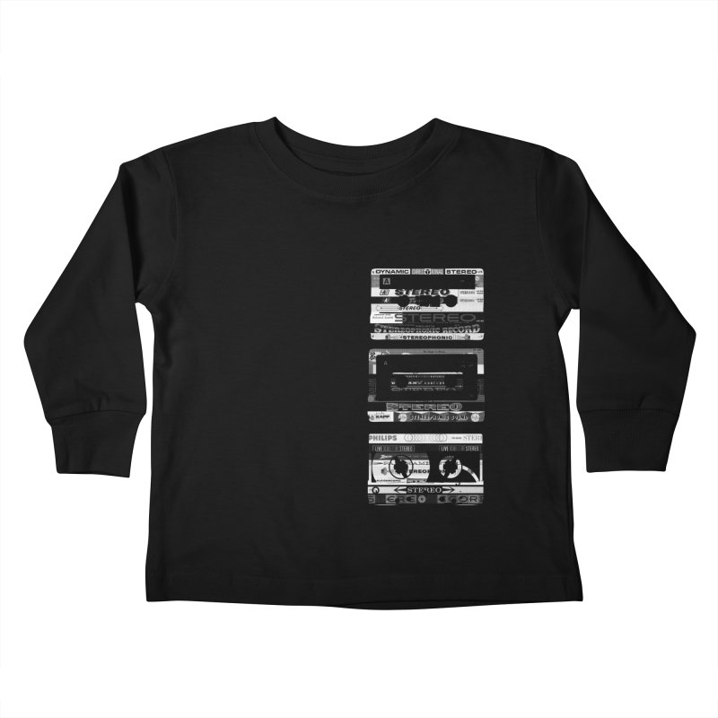 Pretty Little Row Kids Toddler Longsleeve T-Shirt by CRANK. outdoors + music lifestyle clothing