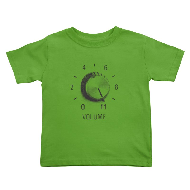 Volume to Eleven Kids Toddler T-Shirt by CRANK. outdoors + music lifestyle clothing