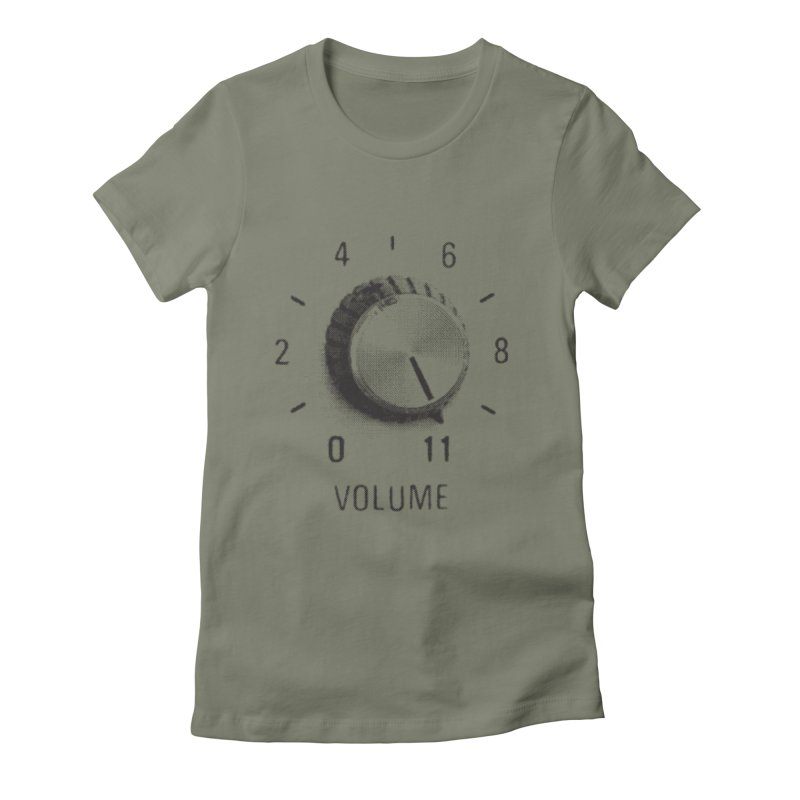 Volume to Eleven Women's T-Shirt by CRANK. outdoors + music lifestyle clothing