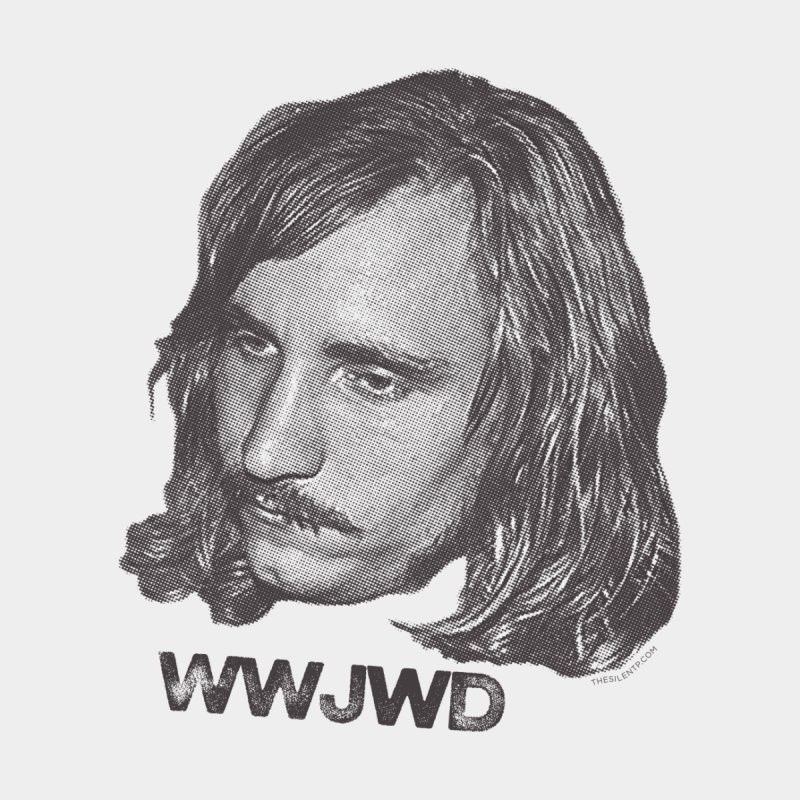 WWJWD (What Would Joe Walsh Do) Men's T-Shirt by CRANK. outdoors + music lifestyle clothing