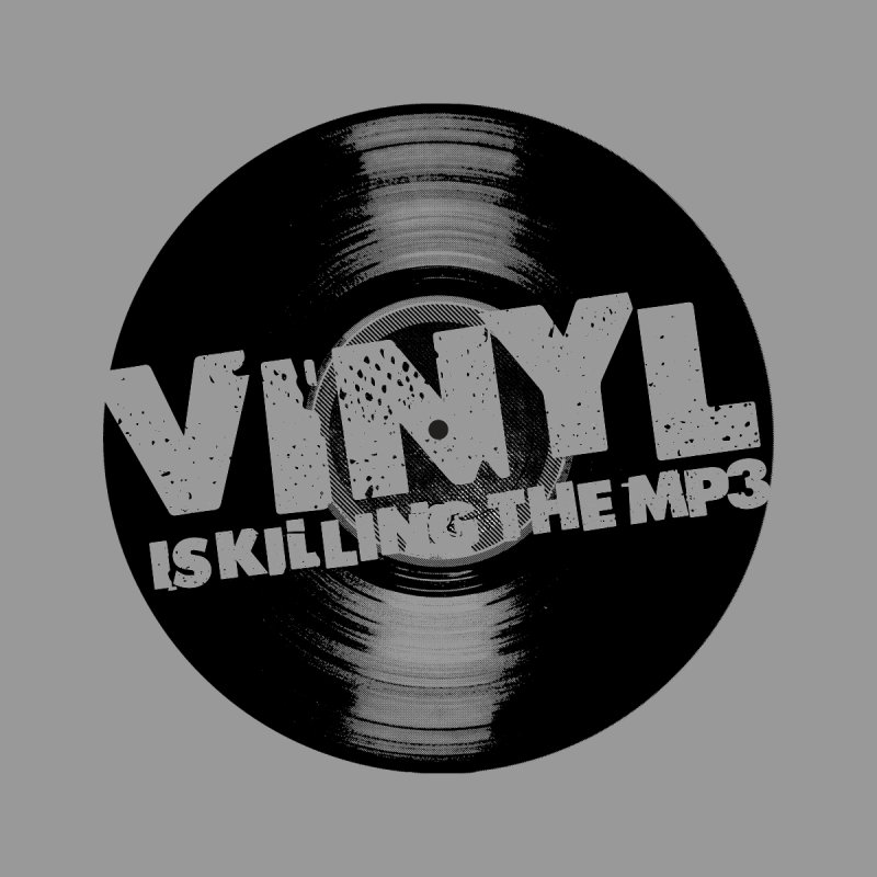 Vinyl is Killing the MP3 (version 2) Women's Tank by CRANK. outdoors + music lifestyle clothing