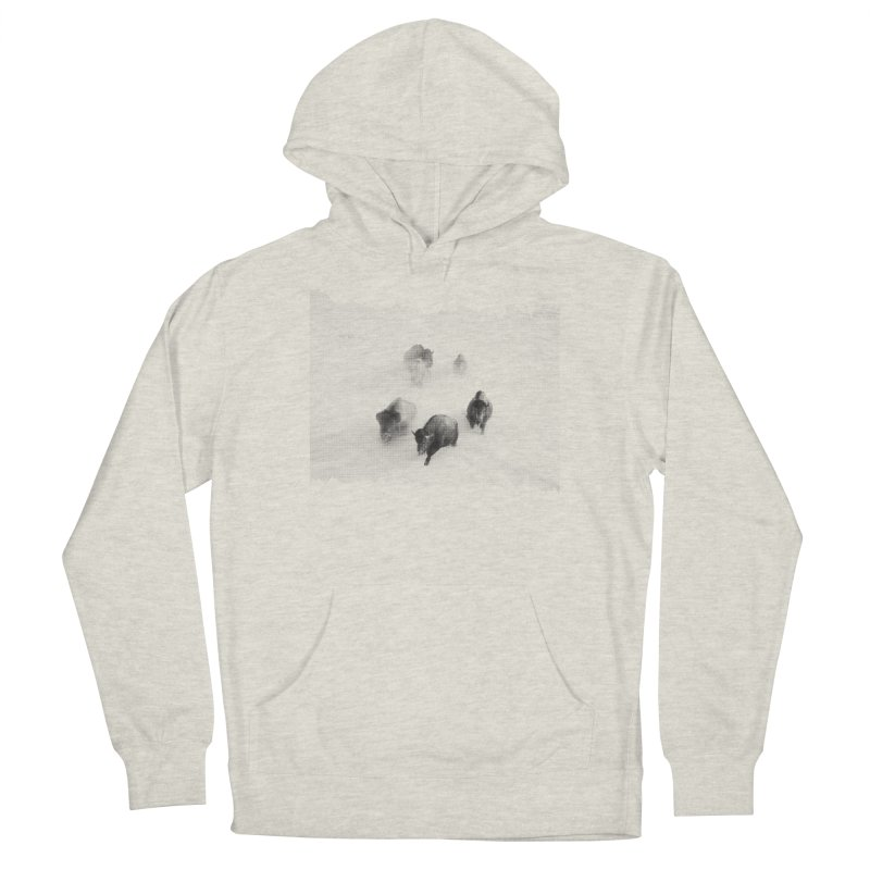 Bison Run Men's Pullover Hoody by CRANK. outdoors + music lifestyle clothing