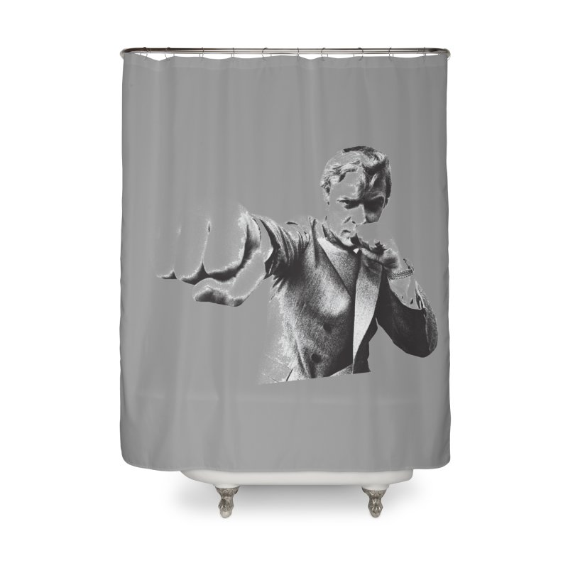 Punch Home Shower Curtain by CRANK. outdoors + music lifestyle clothing