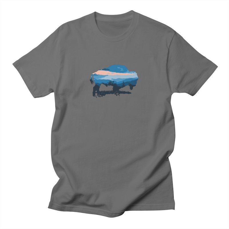 Bison Blue Ridge Men's T-Shirt by CRANK. outdoors + music lifestyle clothing