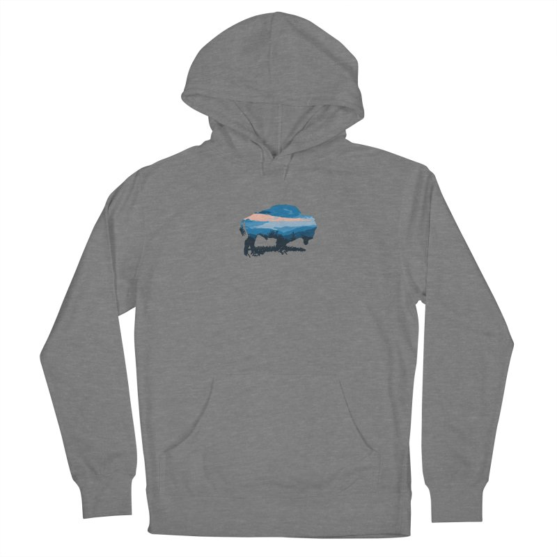 Bison Blue Ridge Women's Pullover Hoody by CRANK. outdoors + music lifestyle clothing