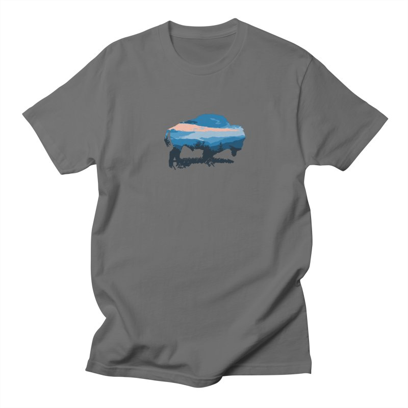 Bison Blue Ridge Men's T-Shirt by CRANK. outdoors + music lifestyle clothing