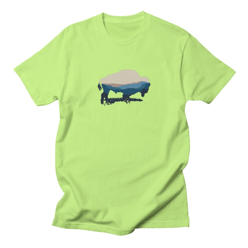 Bison Appalachian Men's T-Shirt by CRANK. outdoors + music lifestyle clothing
