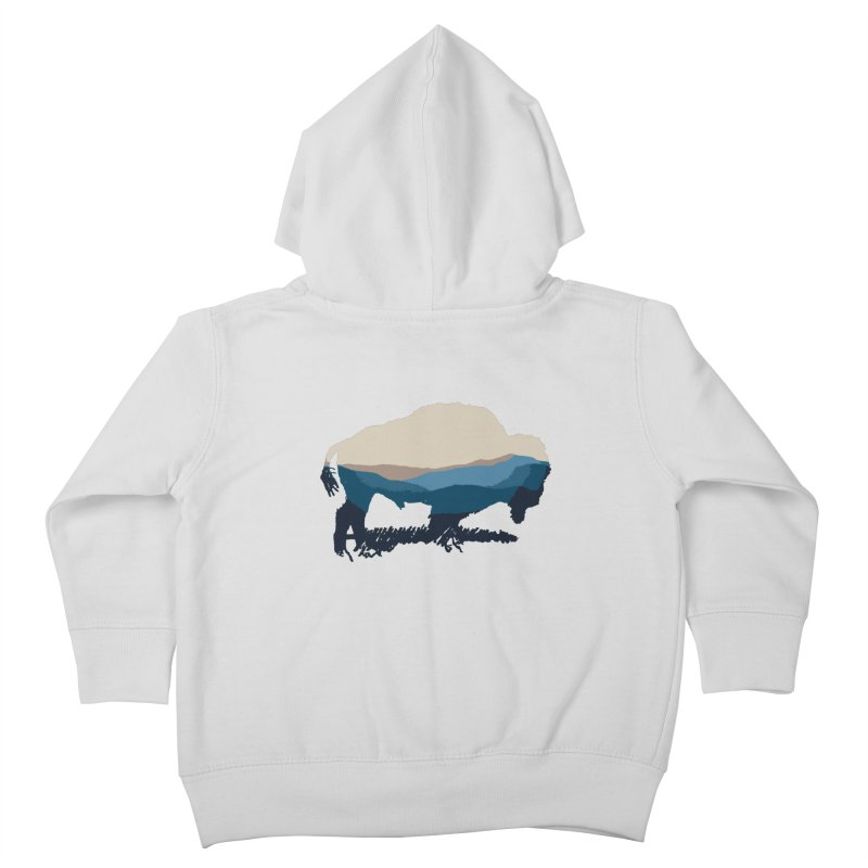 Bison Appalachian Kids Toddler Zip-Up Hoody by CRANK. outdoors + music lifestyle clothing