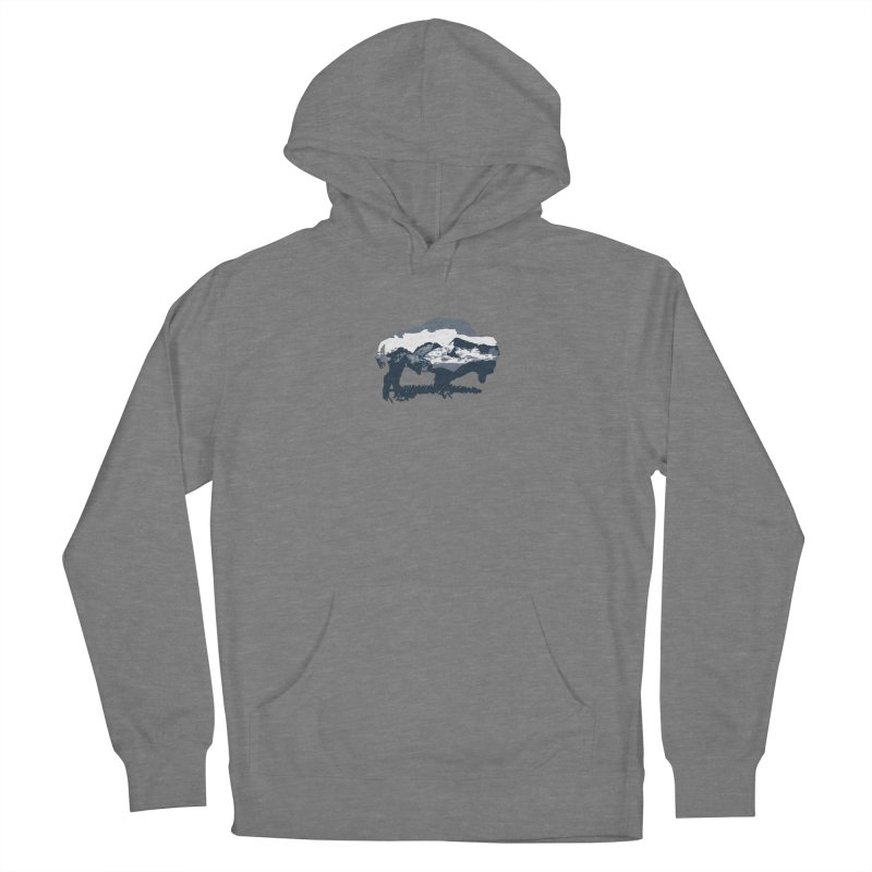 Bison Rockies Women's Pullover Hoody by CRANK. outdoors + music lifestyle clothing