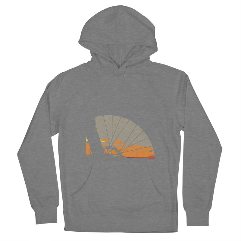 MTB Sunset  Women's Pullover Hoody by CRANK. outdoors + music lifestyle clothing