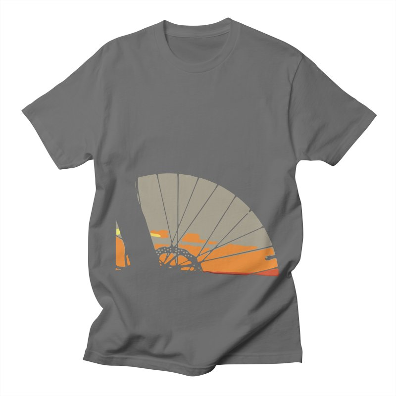MTB Sunset  Women's T-Shirt by CRANK. outdoors + music lifestyle clothing