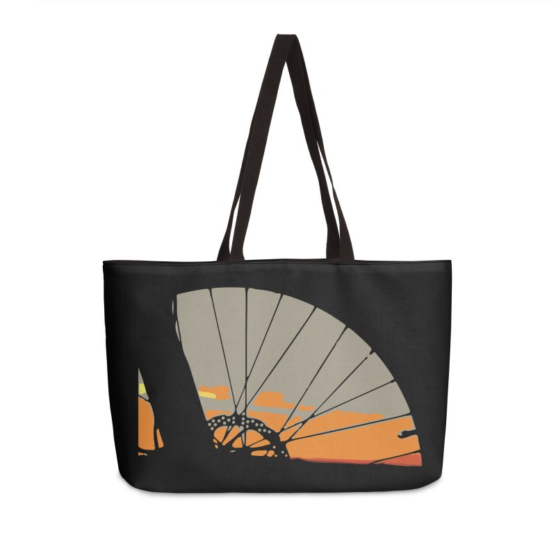 MTB Sunset  Accessories Bag by CRANK. outdoors + music lifestyle clothing