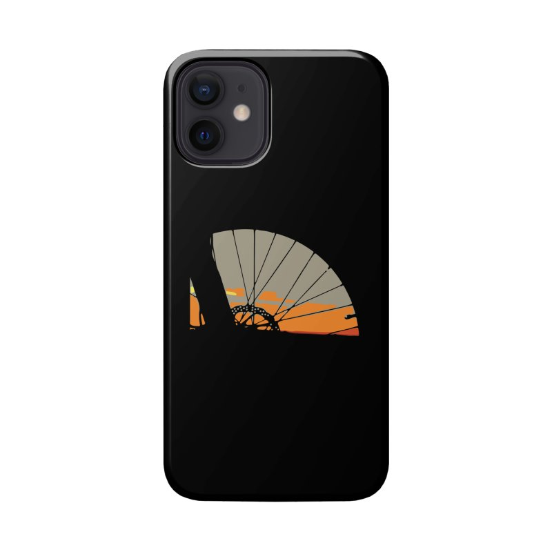 MTB Sunset  Accessories Phone Case by CRANK. outdoors + music lifestyle clothing