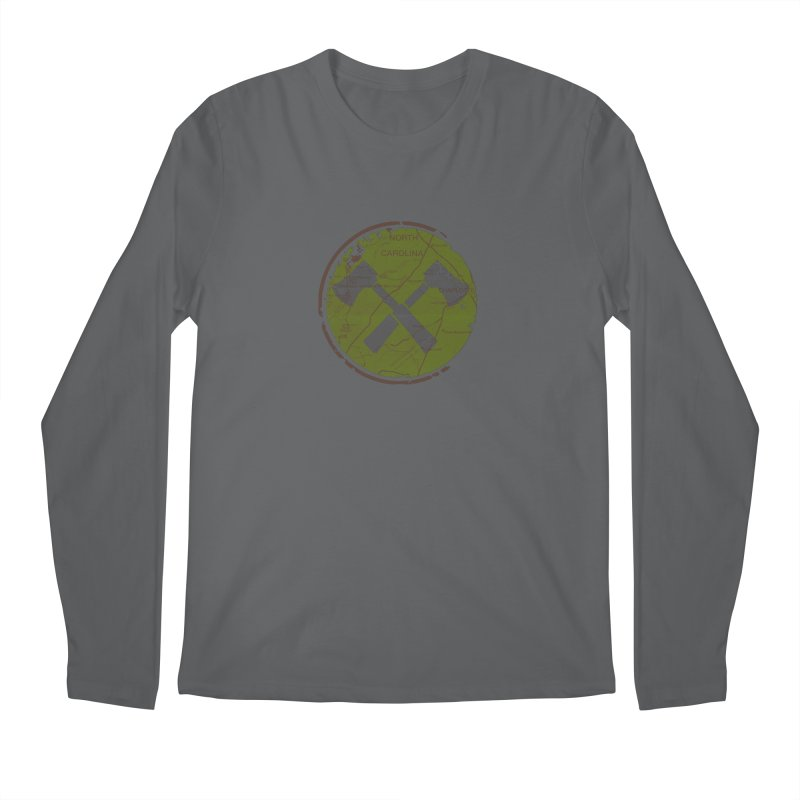 Trail Maker - Foothills Edition Men's Longsleeve T-Shirt by CRANK. outdoors + music lifestyle clothing