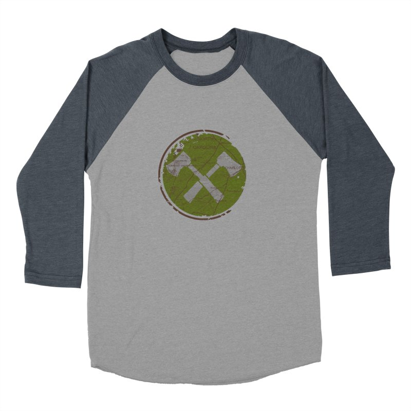 Trail Maker - Foothills Edition Women's Baseball Triblend Longsleeve T-Shirt by CRANK. outdoors + music lifestyle clothing