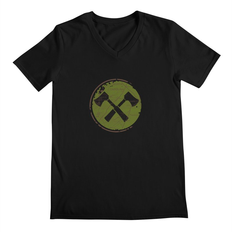 Trail Maker - Foothills Edition Men's Regular V-Neck by CRANK. outdoors + music lifestyle clothing