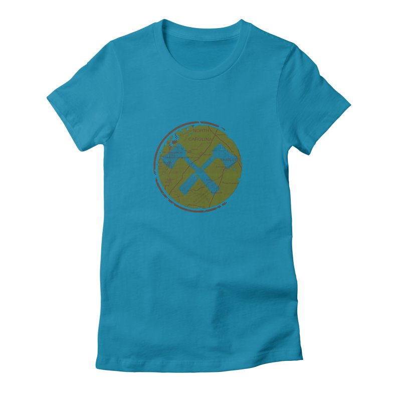 Trail Maker - Foothills Edition Women's T-Shirt by CRANK. outdoors + music lifestyle clothing