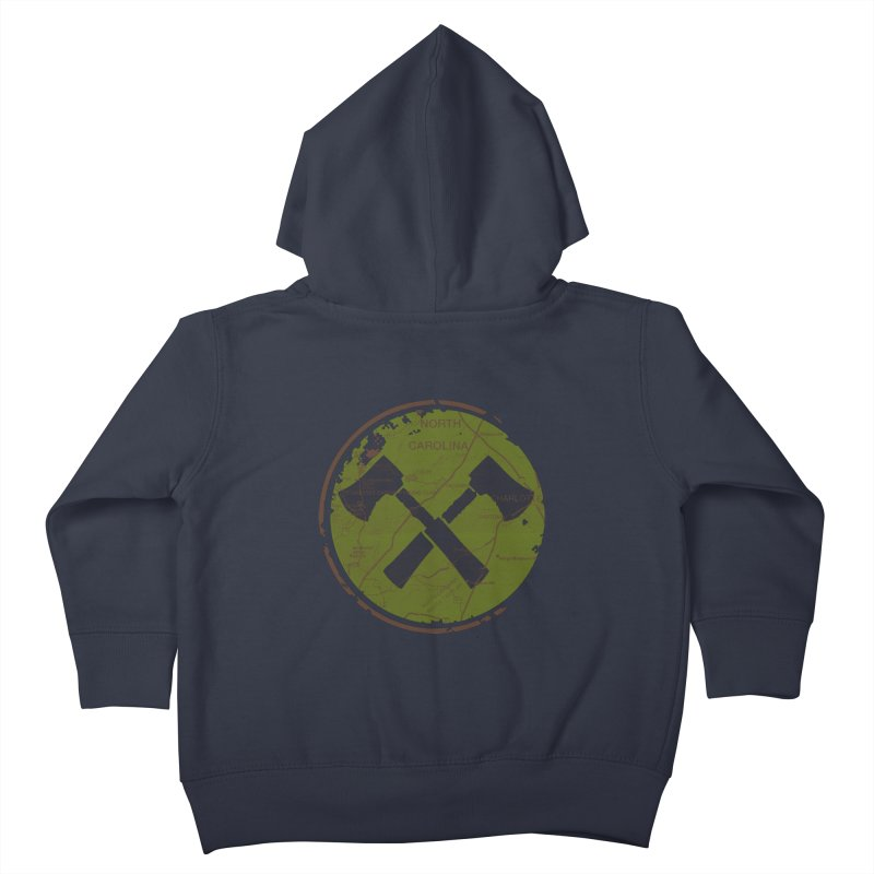 Trail Maker - Foothills Edition Kids Toddler Zip-Up Hoody by CRANK. outdoors + music lifestyle clothing