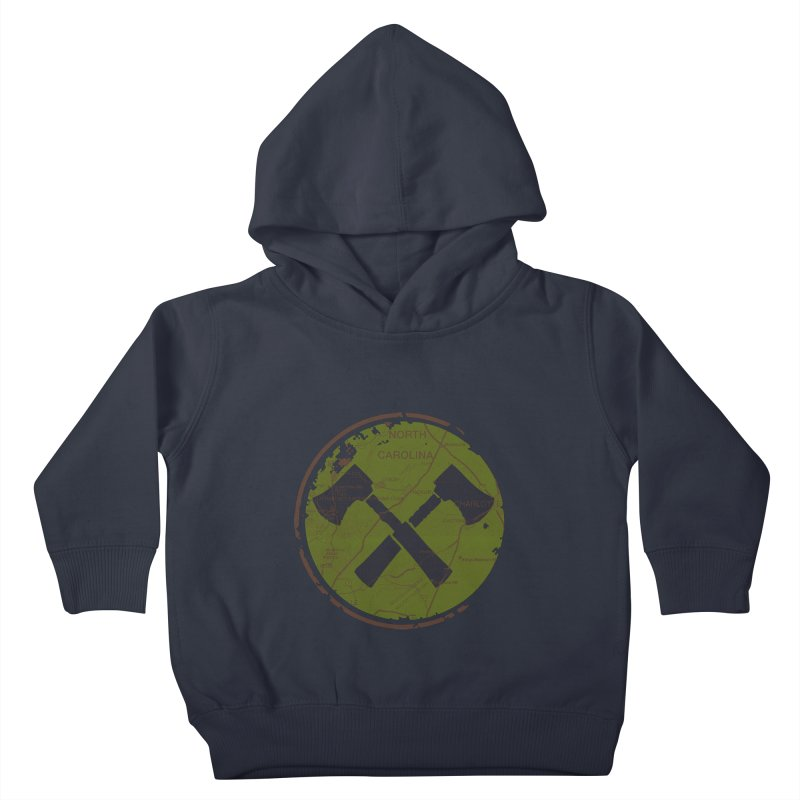 Trail Maker - Foothills Edition Kids Toddler Pullover Hoody by CRANK. outdoors + music lifestyle clothing