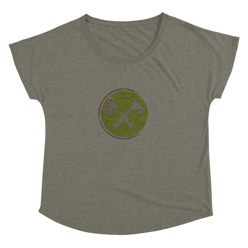 Trail Maker - Foothills Edition Women's Dolman Scoop Neck by CRANK. outdoors + music lifestyle clothing