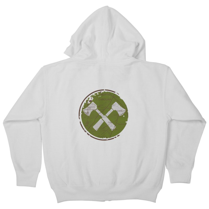 Trail Maker - Foothills Edition Kids Zip-Up Hoody by CRANK. outdoors + music lifestyle clothing