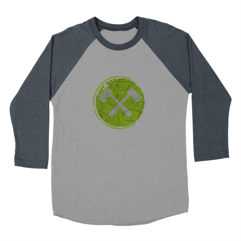 Trail Maker AVL Ed. Women's Baseball Triblend Longsleeve T-Shirt by CRANK. outdoors + music lifestyle clothing