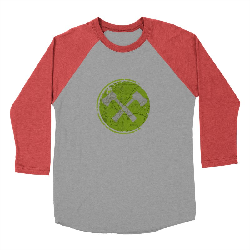 Trail Maker AVL Ed. Men's Baseball Triblend Longsleeve T-Shirt by CRANK. outdoors + music lifestyle clothing